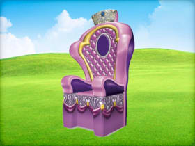Princess Throne Chair Inflatable