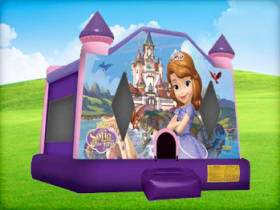 Sophia The First bounce house