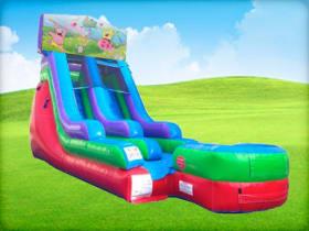 15ft Spongebob Retro Water Slide Slide