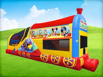 Mickey Choo Choo Train Inflatable