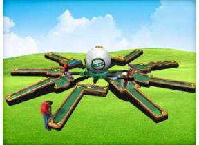 9 Hole Putt-Putt Golf Challenge