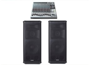 Large PA Audio Sound System