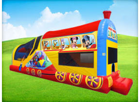 Mickey's Choo Choo Express w/ (Wet or Dry Slide)