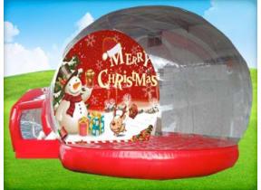 Inflatable Snow Globe Rental with Christmas Lights
