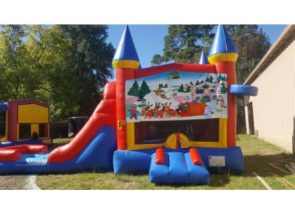 Christmas Bounce House Slide Rental