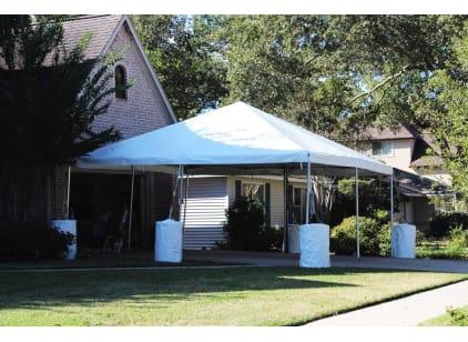 20 x 20 Frame Tent Rental Houston