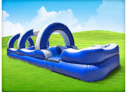 double lane water slide for rent