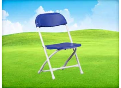 Blue Kids Folding Chair