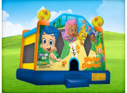 Bubble Guppies Bounce House Kids Party