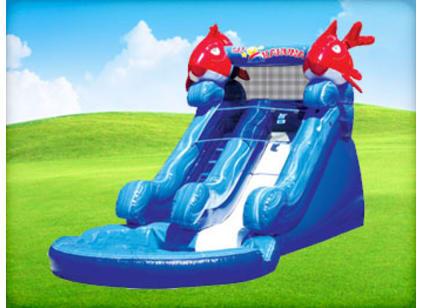 Inflatable Little Kahuna Slide