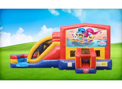 shimmer and shine 3in1 bouncer rental