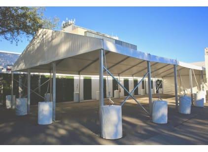 30' x 20' Drive Through Tent