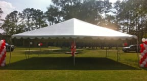 30ft x 30ft frame tent rental Houston