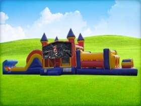 50ft Pirates Obstacle w/ Wet or Dry Slide