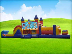 50ft Toy Story Obstacle Course w/ Wet or Dry Slide