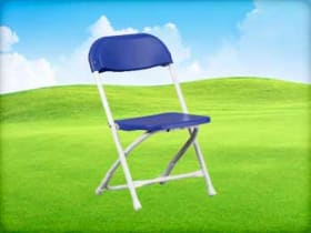 Blue Kids Folding Chair