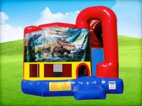 Dinosaur 4in1 Combo w/ Wet or Dry Slide