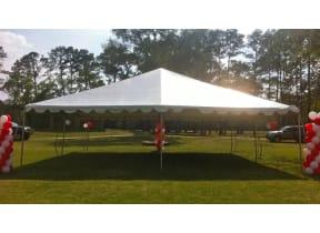 30'x30' Frame Tent Rental