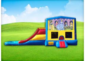 3in1 Disney Princess w/ Wet or Dry Slide
