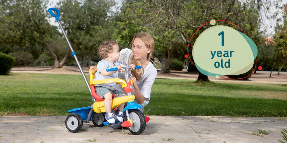 tricycle for 1 year old