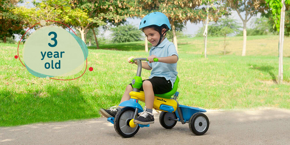 tricycle for 3 year old