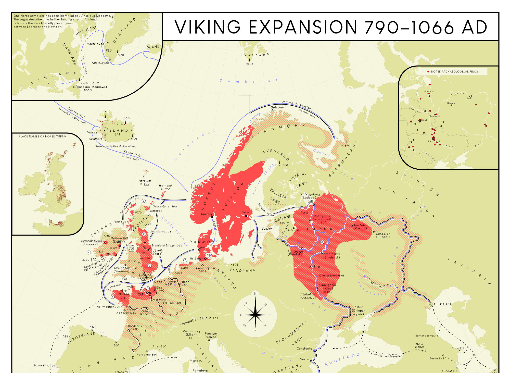 Viking Expansion 790-1066 AD