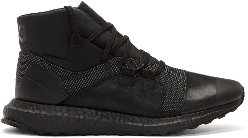 SSENSE  SSENSE  Adidas Originals Black Tubular Doom PK Sneakers ... aa107c095