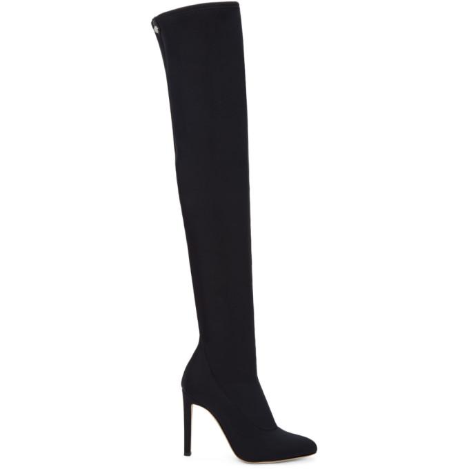 Dolce & Gabbana SSENSE Exclusive Black Bimba Over-the-Knee Boots GODG3rtjQ