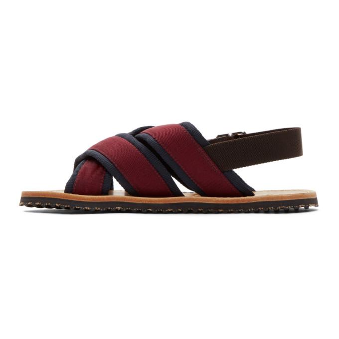 Marni Navy & Nastro Sandals x4OCKtYw