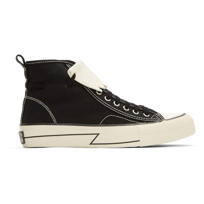 Skagway Printed Suede High-top Sneakers - BlackVisvim kgUbB