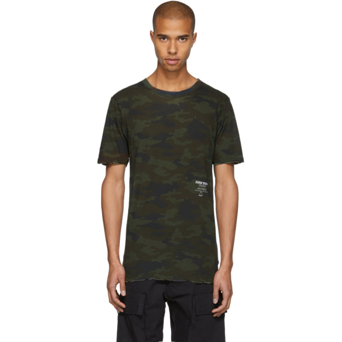 Green Camo Tour Skate T-Shirt Unravel Clearance Store Online Clearance Fake Free Shipping Comfortable Pictures Cheap Online Low Price U22YrIGnfg