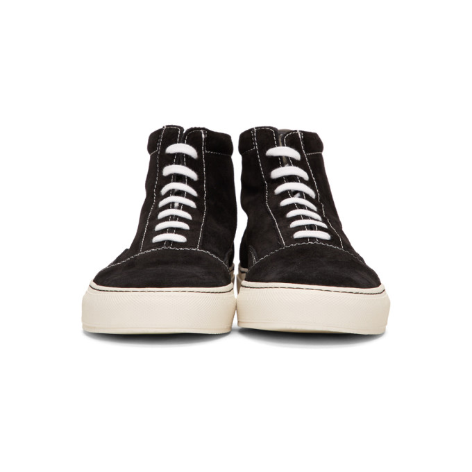 Common Skate Mid Projects En Baskets Suède Noires ID2WEH9Ye