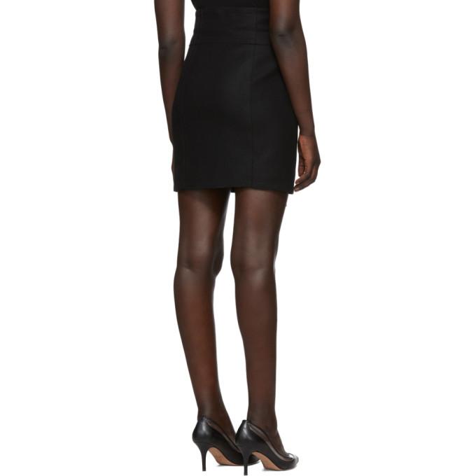 Laine Noire Zip jupe En Dsquared2 Side Mini Chic kXZOuPiT