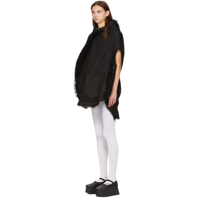 Comme Garçons Des Robe Noire Fabric Rayée Multi FKJ3Tl1c