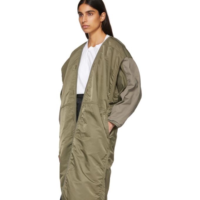 Kimono Visvim Manteau Visvim Manteau Mil Vert Kimono Vert hdCsrtQ