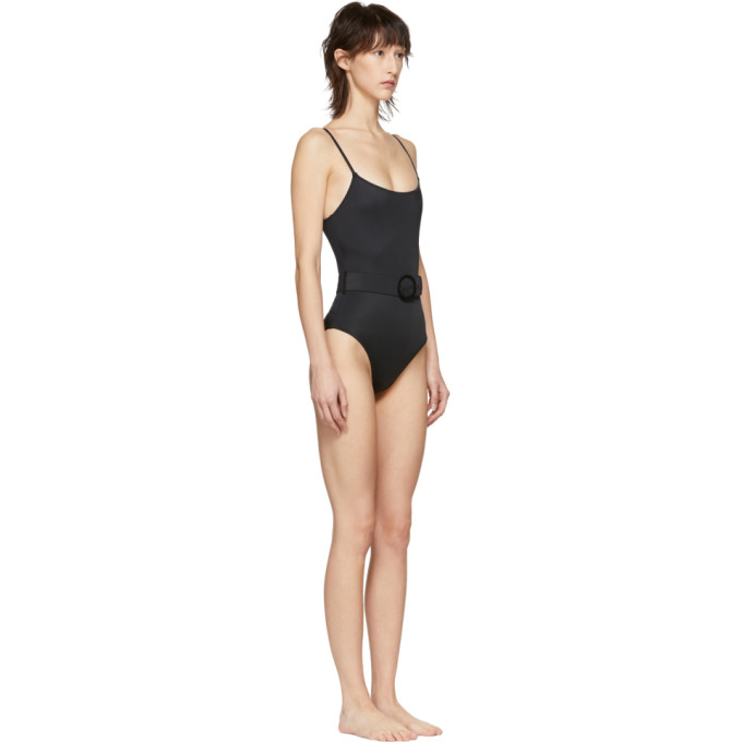 Solidamp; Maillot Striped De Une Pièce Nina' Noir Bain 'the zMGVqSUp
