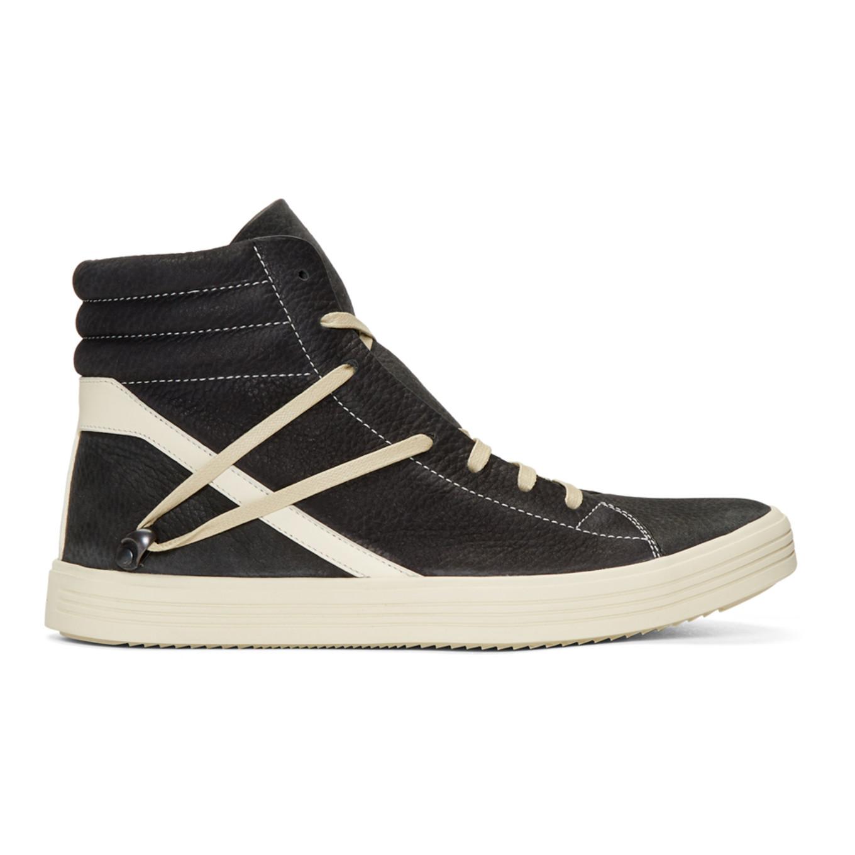 Rick Owens & Off- Geothrasher High-Top Sneakers Store Online 0u3Bpt