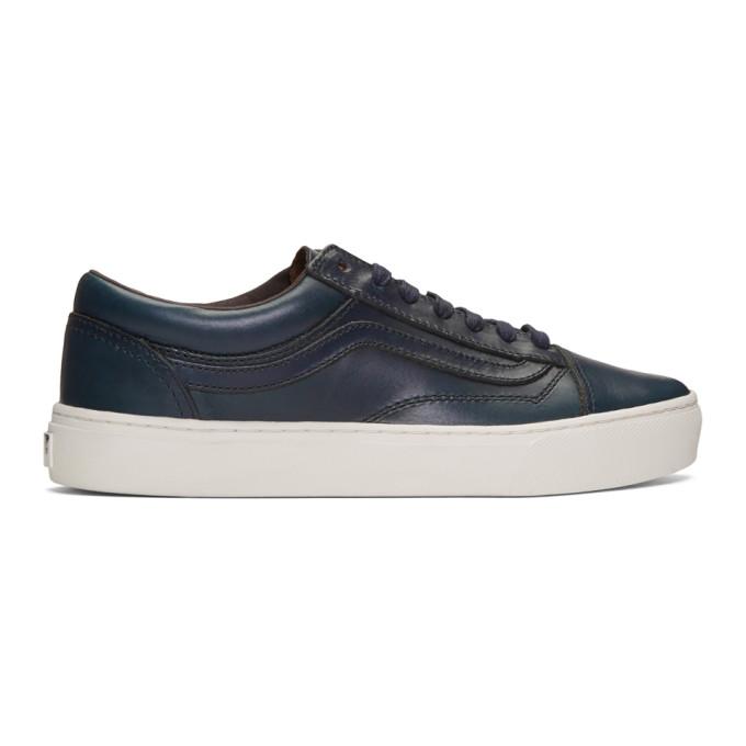 Navy Horween Edition Old Skool Cup Lx Sneakers by Vans