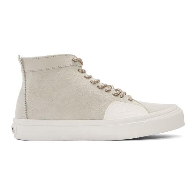 Grey Taka Hayashi Edition Sk8 Skool Lx High Top Sneakers by Vans