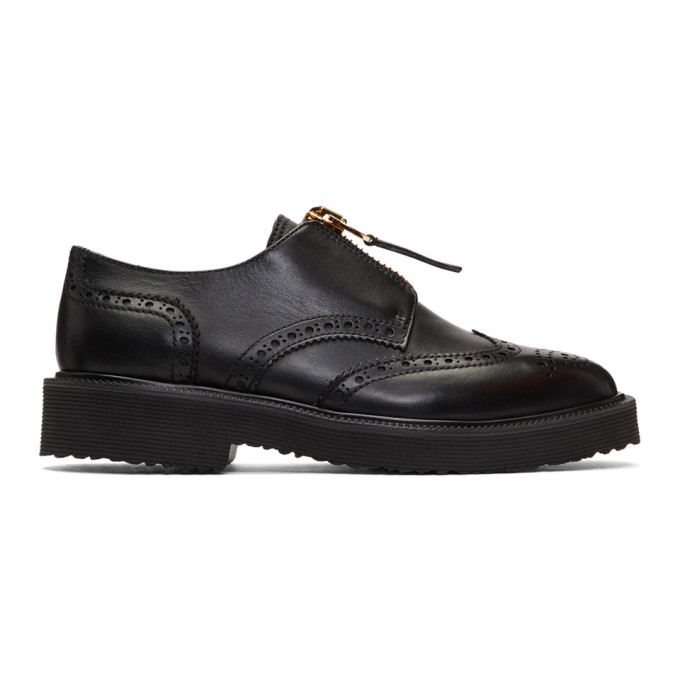 Hilary Derby Shoes in Black