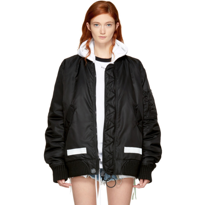 52b875c13924 black-brushed-arrows-bomber-jacket by off-white