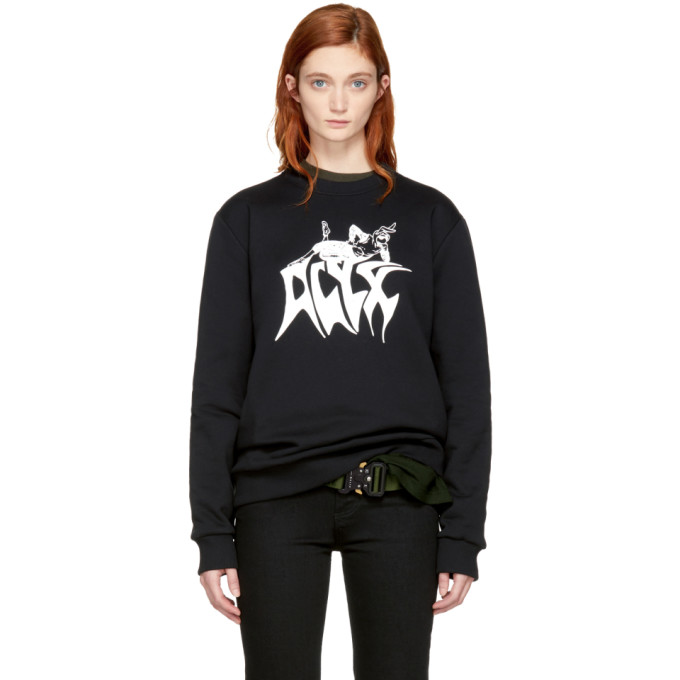 Alyx Black Bunny Logo Sweatshirt
