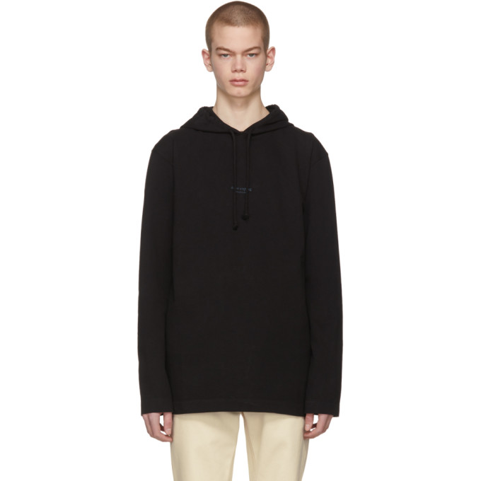 Black Lilly Hoodie by Acne Studios