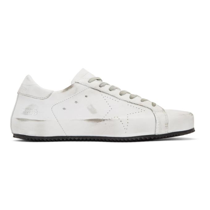 Golden Goose White Superstar Future Sneakers