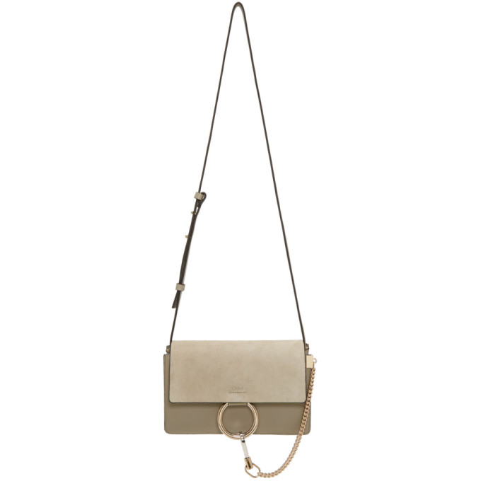 CHLOE GREY SMALL FAYE BAG