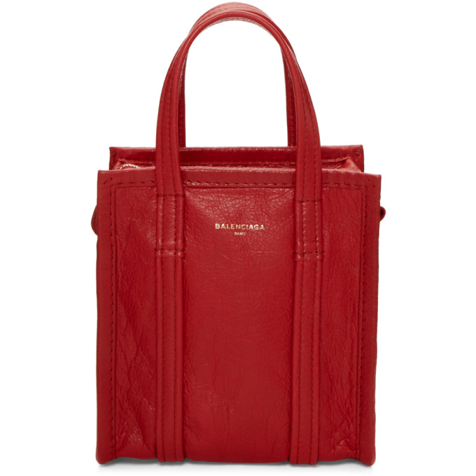Red Xxs Bazar Shopper Tote