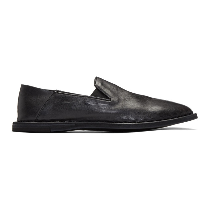 Officine Creative Black Felix 6 Loafers