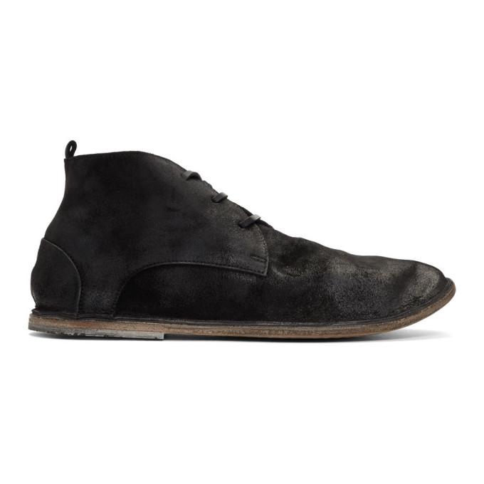 MARSèLL Suede Strasasacco Desert Boots