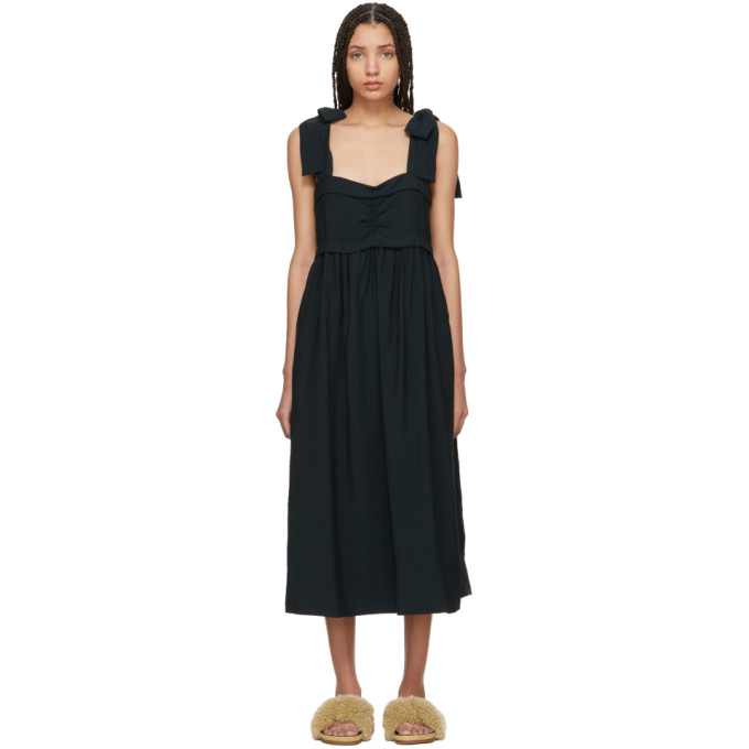 29ebe5cf8c See By ChloÉ Sleeveless Tie-Shoulder A-Line Dress In 22Q Brown ...