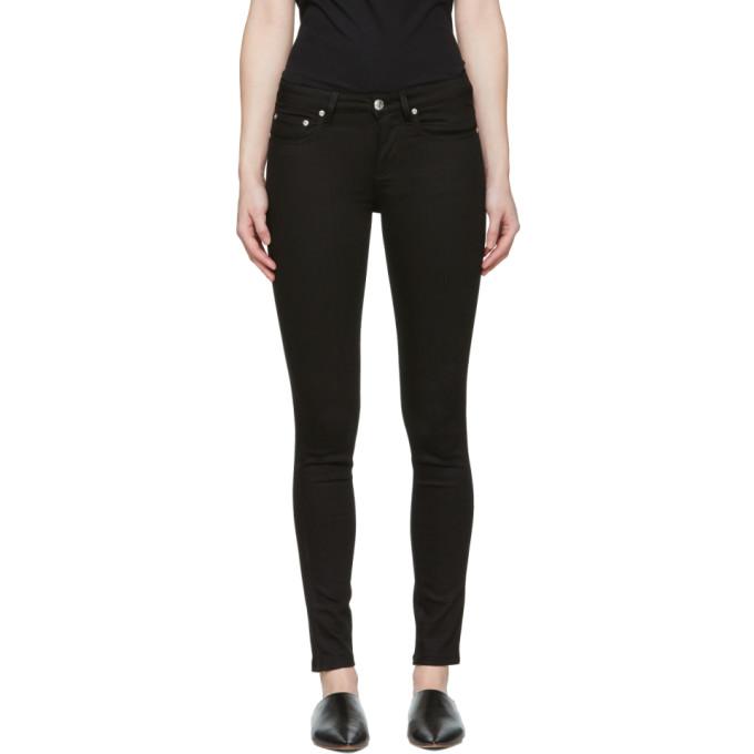 WON HUNDRED Won Hundred Grey Marilyn Skinny Jeans in 999 Black